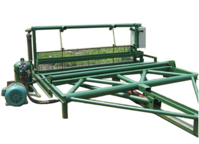 电磁阀锰钢筛网编织机