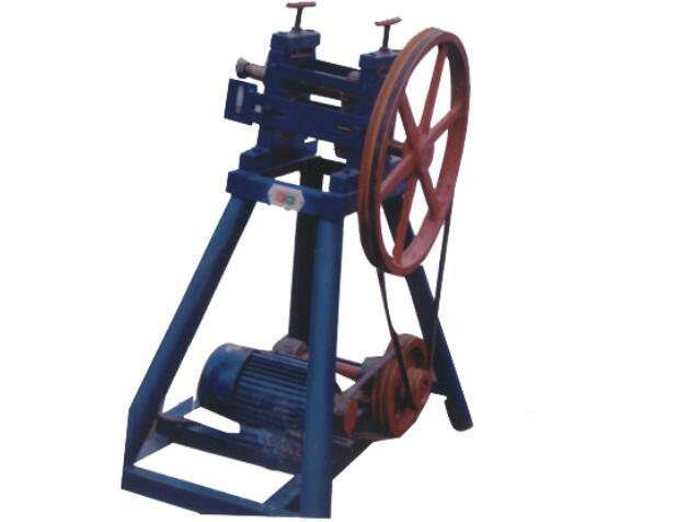 锰钢筛网轧花机