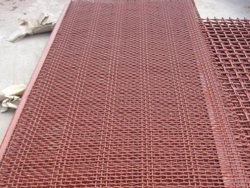 锰钢防堵筛网